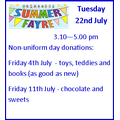 Summer Fayre Donations