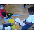 Making life-size scarecrows