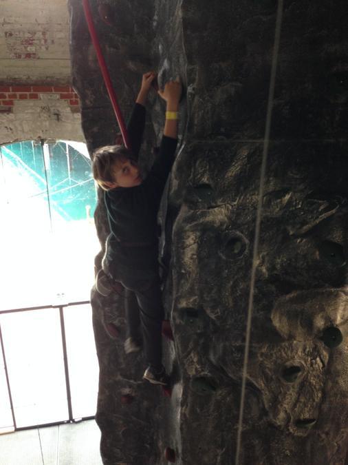 High climber!
