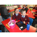 We are using the Ipads for Numeracy