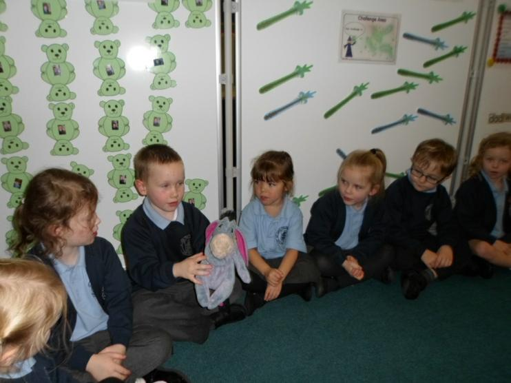 Eeyore was introduced to Reception