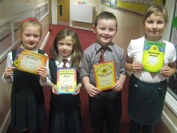 October - Prize Winners