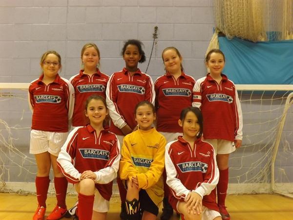 Year 5 & 6 Girls Football Team