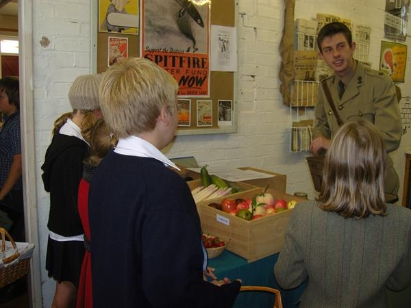 Have you got your ration book?