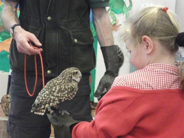 Raptor Foundation visit