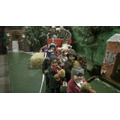 We sung 'Jingle Bells' on a sleigh. It was fun!