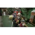 We sung 'Jingle Bells' on a sleigh. It was fun!