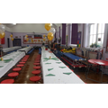 The decorated Hall looks FAB!