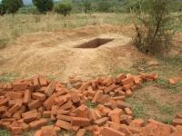Construction of a latrine