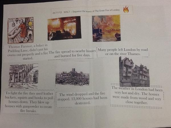 Great fire sequencing
