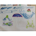 Drawing our favourite animals!