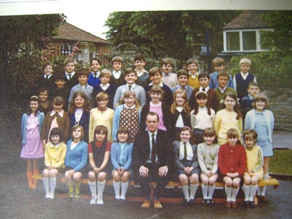 Pictures of past pupils and parents