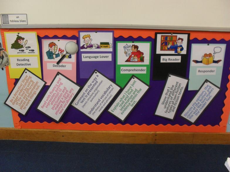Encouraging reading skills in Year 6
