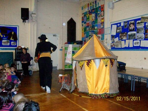 Big Foot Theatre production 'Come an see Anasi'