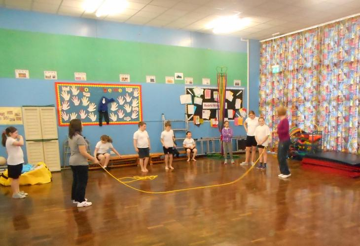 Sports with Mrs Wilkinson and Mrs Nelson