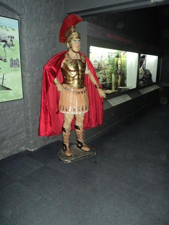 A Roman Centurion.