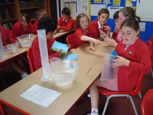 Year 5 investigating