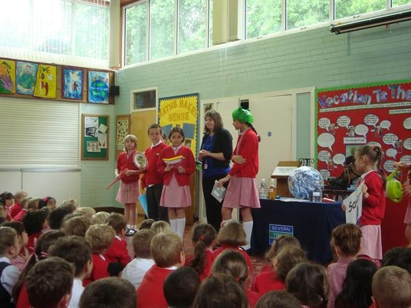 Water saving assembly