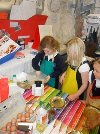 We loved making pancakes