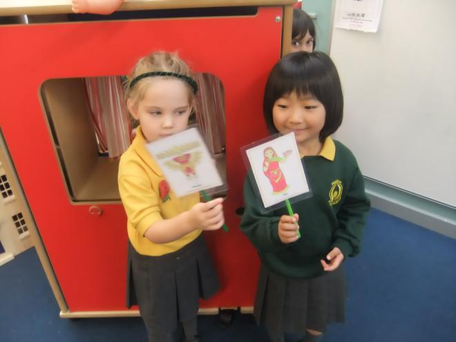 Telling the story of Rama and Sita