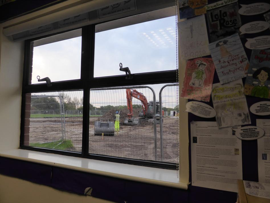 3rd October - looking out from Y6