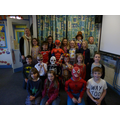 Our class photo on Children in Need day