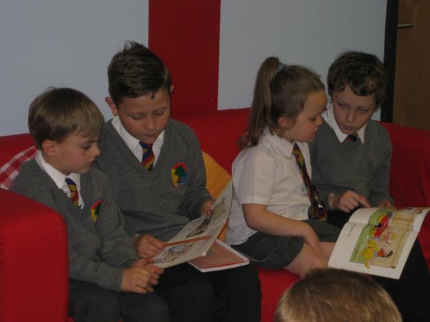 Reading 'buddies'