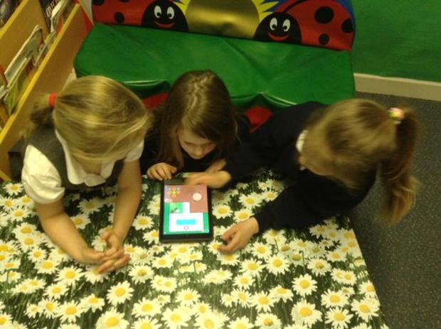 Beebots on the ipads