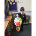 Phileas Fogg's Balloon