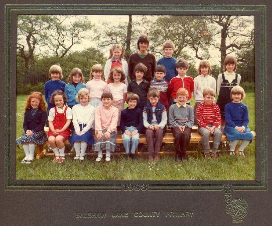 Class photo from 1983