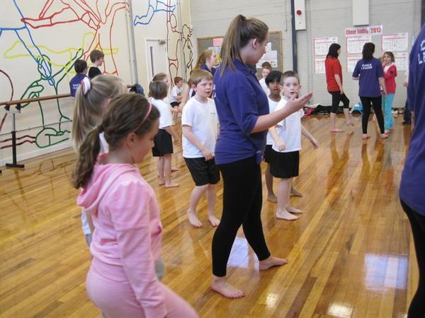 Practising in groups