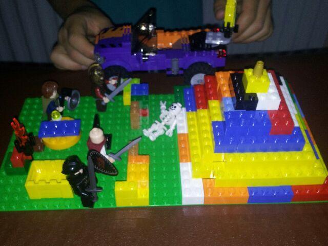 My lego pyramid 3.