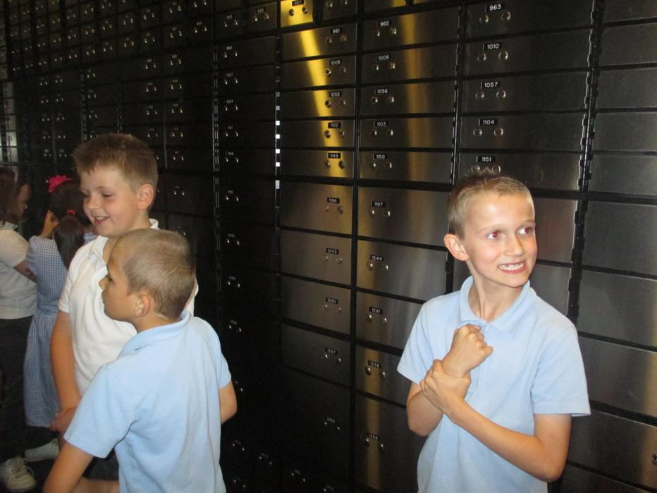 hunting for our safety deposit boxes