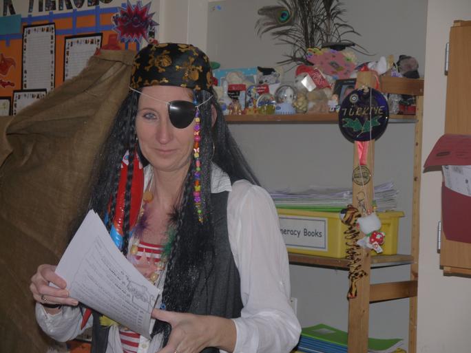 Captain Jo Sparrow!