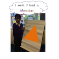 I wish I had a monster. By the children in PSRP