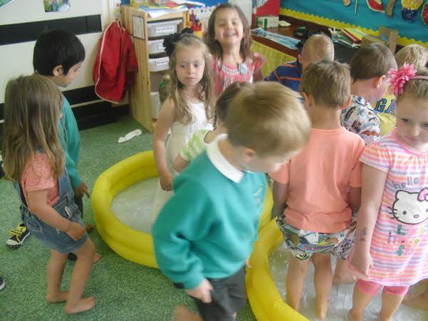 Nursery had great fun at their 'Beach Party'