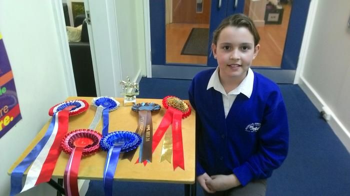 Abbie -  Horseriding awards