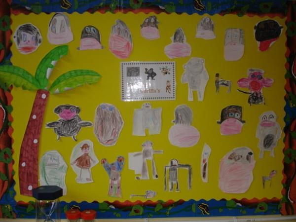 Yr Mrs Willis's classroom display