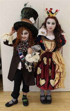 Overall Winners: The Mad Hatter and Queen of Heart