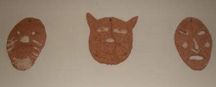 2010 Pottery Masks