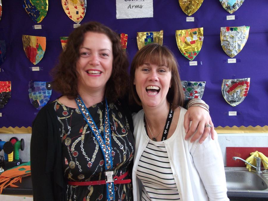 Mrs Willows and Mrs Leyshon -  Foundation Phase