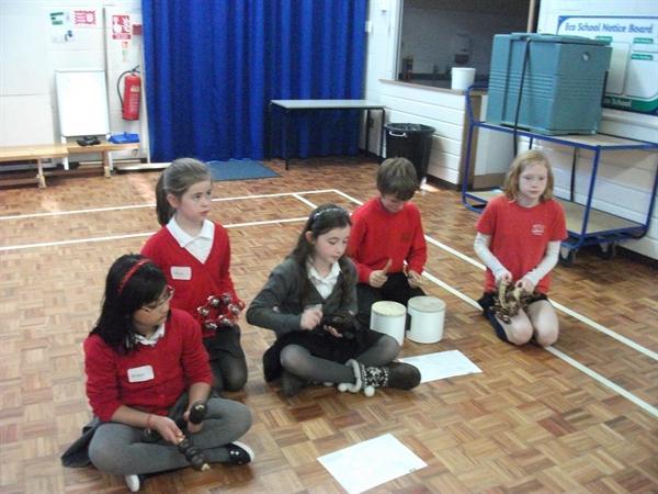 Music in Mrs Appleton's Class