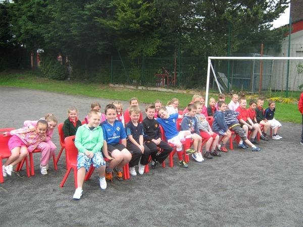 Year 3A all ready to start.
