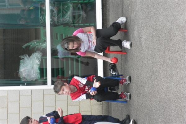 Trying out some Paralympic Sports, March 2012