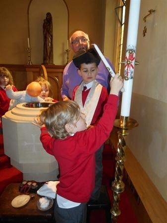 Our visit to Church