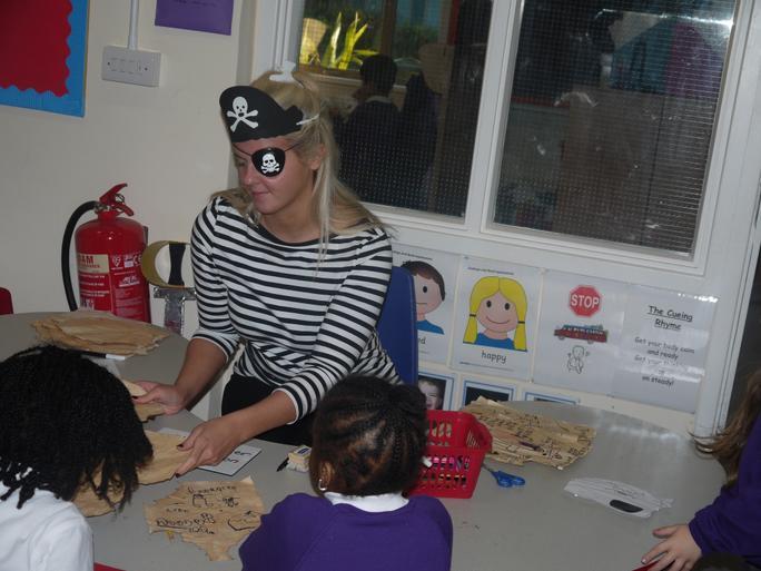 Pirate teacher!