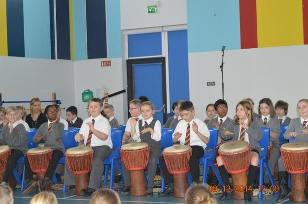 Year 5 African Drums