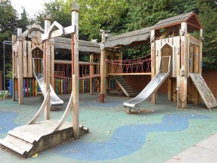 Castle in Years 3/4 playground