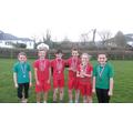The Senior medal winners