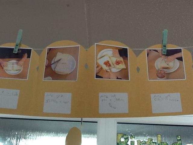 Our jam sandwich instructions